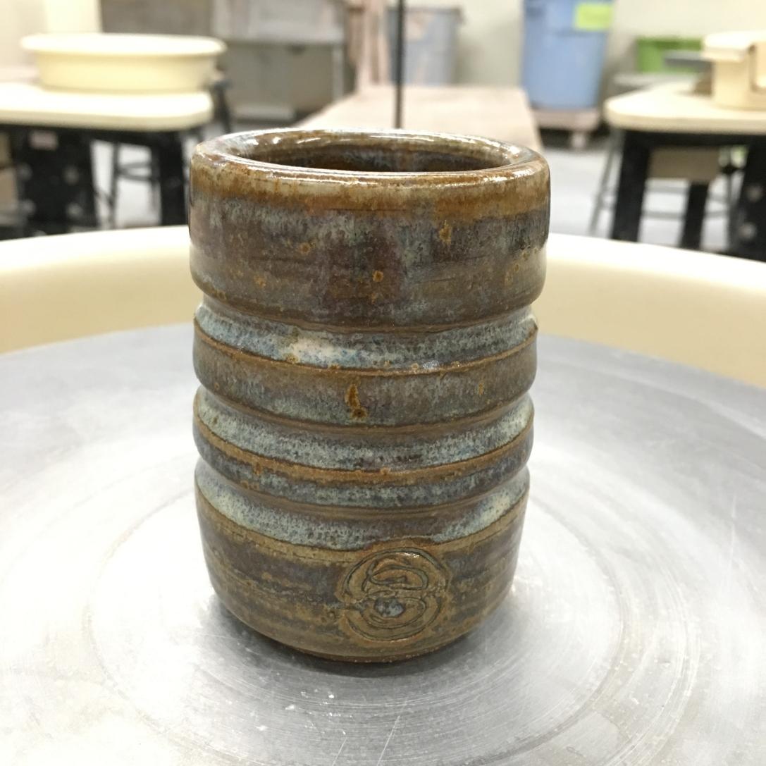 Cylinder cup (light blue rutile) *n/a