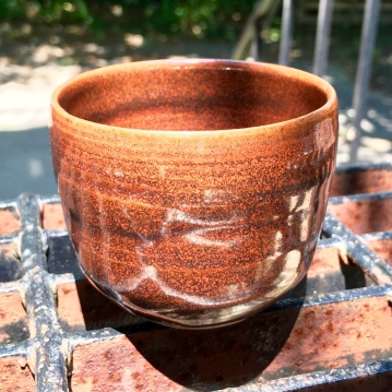 Small tea cup (iron red glaze) *n/a