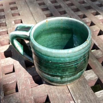 Etched mug (Persian blue) *n/a