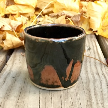 Small tea cup (double layered tenmoku) *n/a